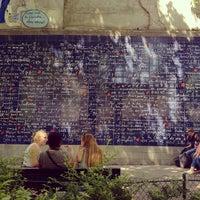 """Photo prise au Le Mur des """"Je t'aime"""" par Renke Y. le5/30/2012"""