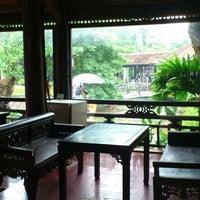 Photo taken at Sen Tây Hồ by toni on 7/29/2012