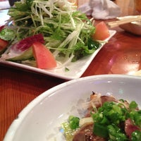 Photo taken at Foods Bar by daisuke h. on 7/12/2012