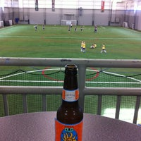 Photo taken at Ultimate Soccer Arena by Steve M. on 4/14/2012