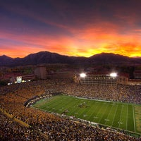 Photo taken at Folsom Field by Cooper S. on 8/20/2012
