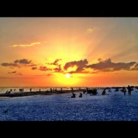 Photo taken at Siesta Key Beach by Michael F. on 8/25/2012