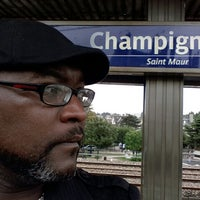 Photo taken at RER Champigny [A] by MB A. on 9/3/2012