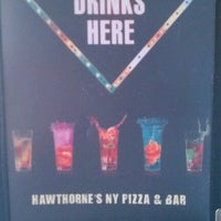 Photo taken at Hawthorne's New York Pizza & Bar by LaToya W. on 7/26/2012