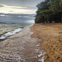Photo taken at Dongtan Beach by Роман on 7/8/2012