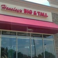 Photo taken at Hensley's Big & Tall by Russell E. on 6/16/2012