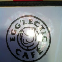 Photo taken at Egg'lectic Cafe by James W. on 2/25/2012
