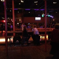 Photo taken at Stampede Mesquite Grill & Dance Emporium by Destiny D. on 2/19/2012