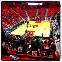 2/16/2012 tarihinde Brittni P.ziyaretçi tarafından Viejas Arena'de çekilen fotoğraf