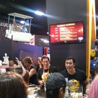 Photo taken at Official Spike Booth at Comic-Con by J on 7/12/2012