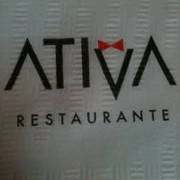 Photo taken at Ativa by Daniele L. on 6/17/2012