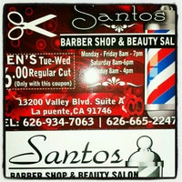Santos Barber Shop & Beauty Salon