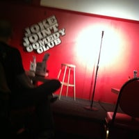 Photo taken at Joke Joint Comedy Club by Chad H. on 3/4/2012