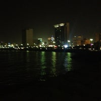 Photo taken at Marina Beach by Rodel on 8/24/2012