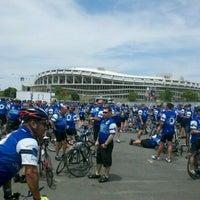 Photo taken at LOT 8 - RFK Stadium by James S. on 5/12/2012