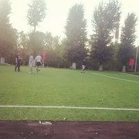 Photo taken at Стадион школы № 626 by Mashushvili on 9/3/2012