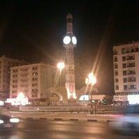 Photo taken at Sharjah Clock Tower by Rashid S. on 9/5/2012