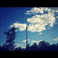 5/25/2012 tarihinde . ..ziyaretçi tarafından Парк «Останкино»'de çekilen fotoğraf