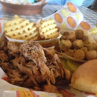 Photo taken at Dickey's BBQ Pit by Frozen T. on 7/18/2012