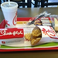Photo taken at Chick-fil-A by Kursti R. on 3/28/2012