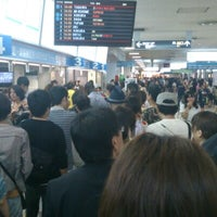 Photo taken at Nishitetsu Tenjin Expressway Bus Terminal by tag S. on 8/12/2012
