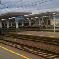 Photo taken at Stazione Bergamo by Lore on 8/31/2012