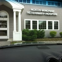 Photo taken at North Windham Veterinary Hospital by beckie l. on 6/6/2012
