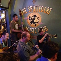 Photo taken at The Spotted Cat Music Club by Katie H. on 4/14/2012