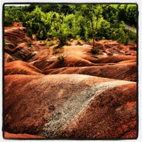 Photo taken at Cheltenham Badlands by Michelle K. on 8/2/2012
