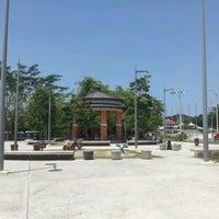 Photo taken at Plaza de la Amistad by wilfredo b. on 9/9/2012