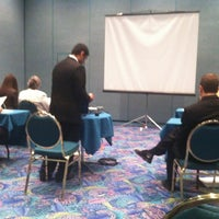 Photo taken at Donald E Stephens Convention Center by David d. on 4/16/2012