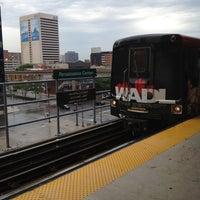 Photo taken at DPM - Renaissance Center Station by Ron A. on 7/5/2012