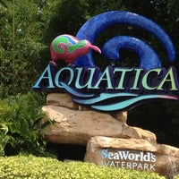 Photo taken at Aquatica, SeaWorld's Waterpark Orlando by Carmen on 8/19/2012