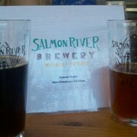Photo taken at Salmon River Brewery by Christopher B. on 8/24/2012