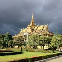 Photo taken at Royal Palace, Phnom Penh by Manu on 8/12/2012