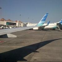 Photo taken at GA319 SUB-CGK / Garuda Indonesia by Cindy A. on 6/30/2012