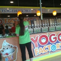 Photo taken at Yogo Factory by Manuel A. on 5/12/2012