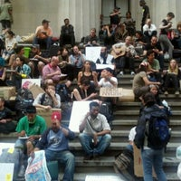 Photo taken at Federal Hall National Memorial by Zachariah W. on 4/16/2012