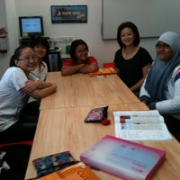 Photo taken at British Council by Nur I. on 2/23/2012