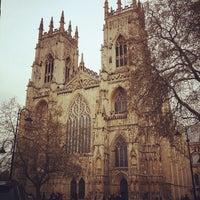 Photo taken at York Minster by Wiriya C. on 5/13/2012