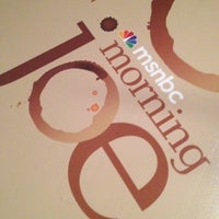 Photo taken at MSNBC Broadcast Stage at Channelside by Caitlin C. on 8/28/2012