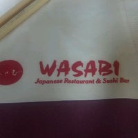 Photo taken at Wasabi by Thomas B. on 5/4/2012