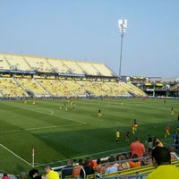 Photo taken at MAPFRE Stadium by Pam H. on 5/26/2012