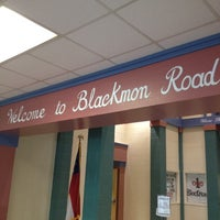 Photo taken at Blackmon Road Middle School by Damiso A. on 3/2/2012
