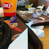 Photo taken at DQ Grill / Dairy Queen by Malyne E. on 2/17/2012