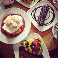Photo taken at Pastiche Fine Desserts & Café by Lilly L. on 5/6/2012