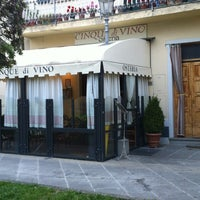 Photo taken at Osteria Cinque Di Vino by Ars Opulenta on 5/27/2012