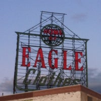 Photo taken at Home Of Eagle Clothes Sign by David K. on 8/19/2012