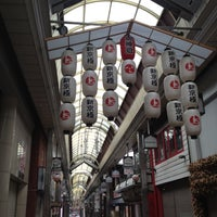 Photo taken at 新京極商店街 by Hirotada U. on 6/17/2012