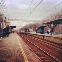 Снимок сделан в Платформа Маленковская пользователем Tolya B. 4/12/2012